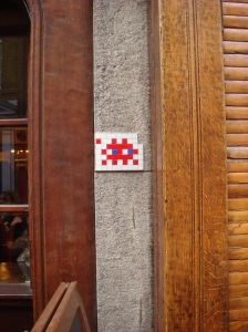 Invader in Soho