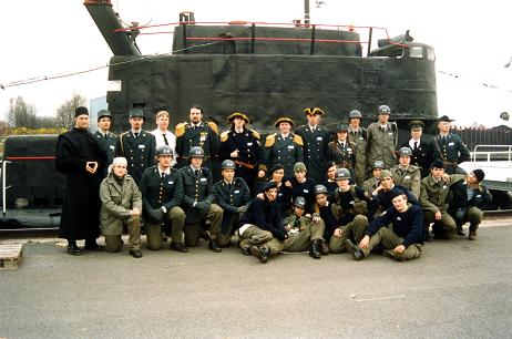 The crew of Carolus Rex preparing to defend the interests of Sweden in the Outer Space