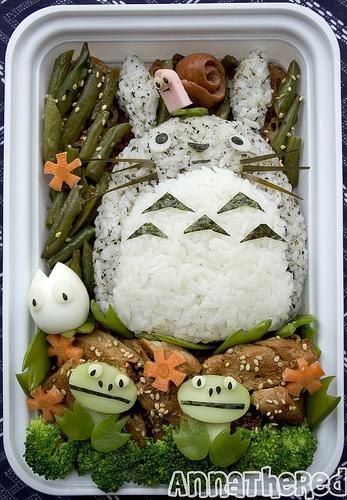 TotoroBentoAnnaTheRed